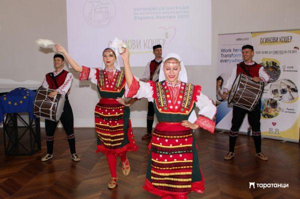 """Българската фондация """"Таратанци"""" с отличие от европейски награди за културно наследследство """"Европа Ностра"""""""